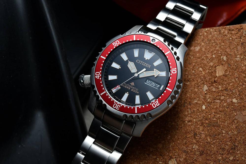 NY0091-83E reloj Citizen automatico 200M de acero