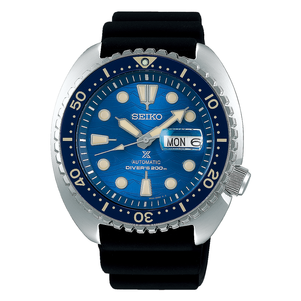 "Edicion limitada 2020 seiko prospex ""save the ocean"" SRPE07K1"
