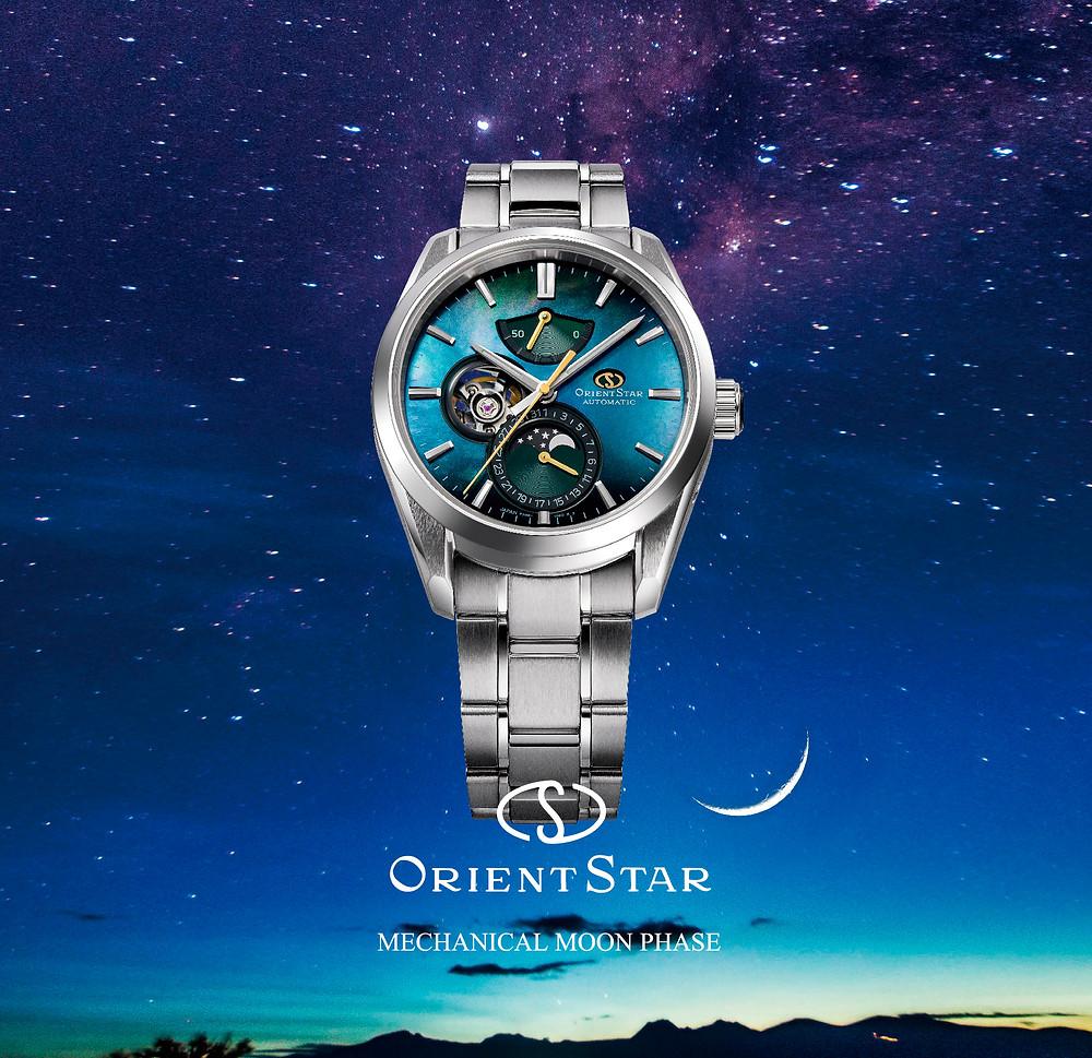 reloj Orient Star edicion limitada 70 aniversario esfera nacar 147-RE-AY0006A00B