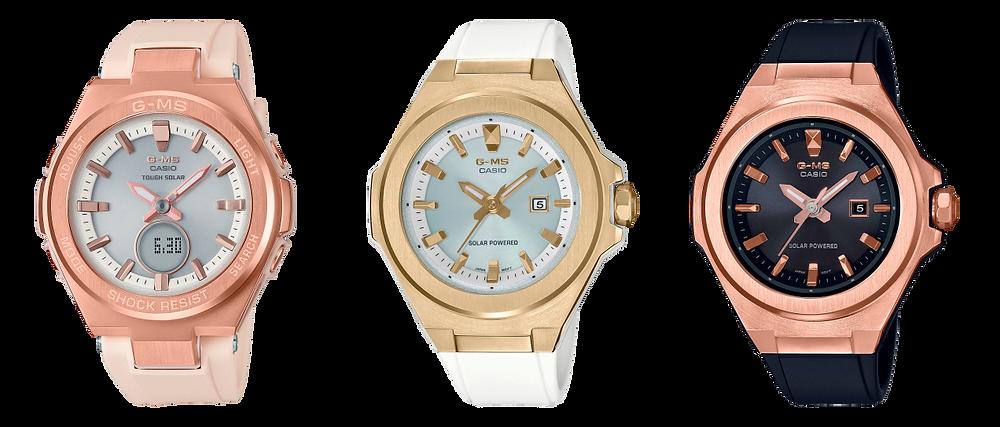 Relojes casio G-Shock BABYG para ellas MSG-S500G-1AER