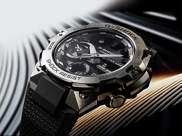 Nuevos relojes casio G-Steel serie GSTB400 conectados a APP y  carbon core guard