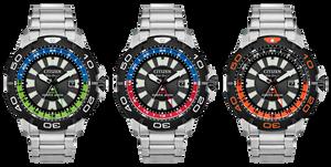 Nuevos relojes Citizen promaster GMT dual time 200m