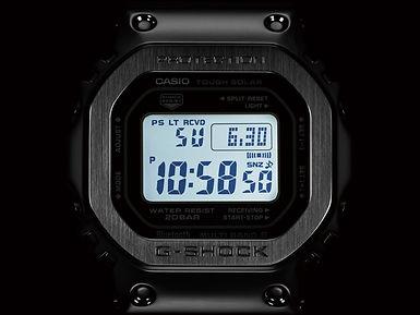 g-shock reloj digital GMW-B5000D-1 multiband 6 bluetooth tough solar