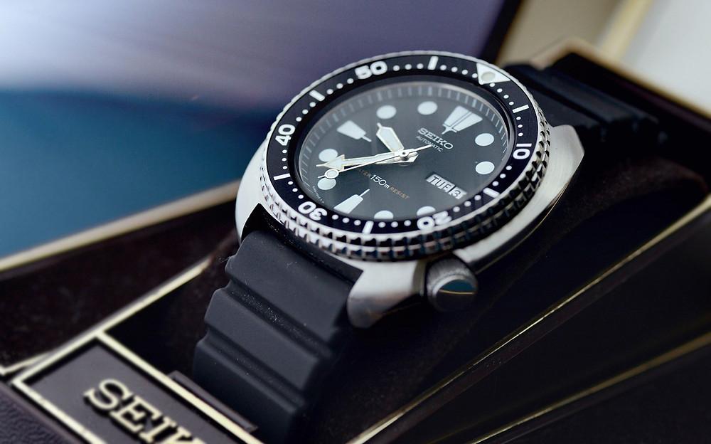 Reloj japones vintage marca Seiko Diver 6309-7040
