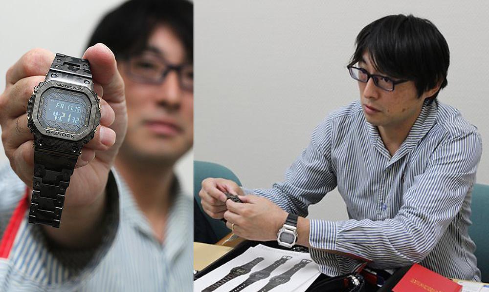 Hayato Ikezu creador reloj rangeman gw9400 de casio g-shock