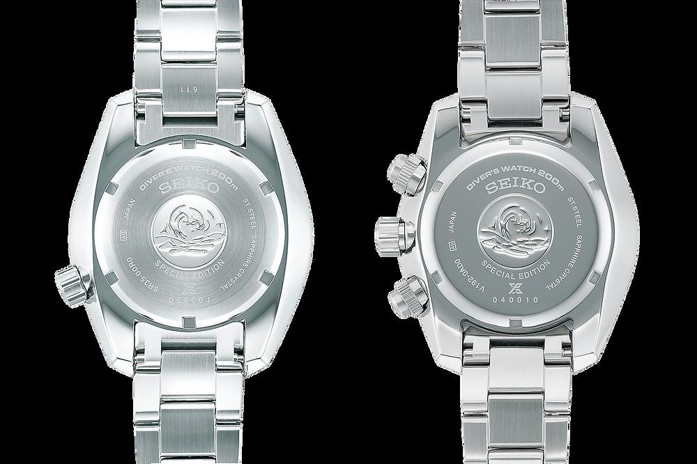 Vista tapa fondo nuevos relojes de seiko prospex PADI 2021