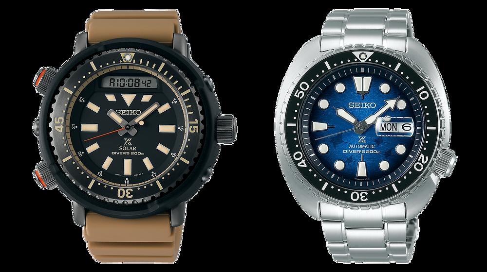 Relojes seiko arnie safary y king turtle, regalos perfectos Navidad 2020