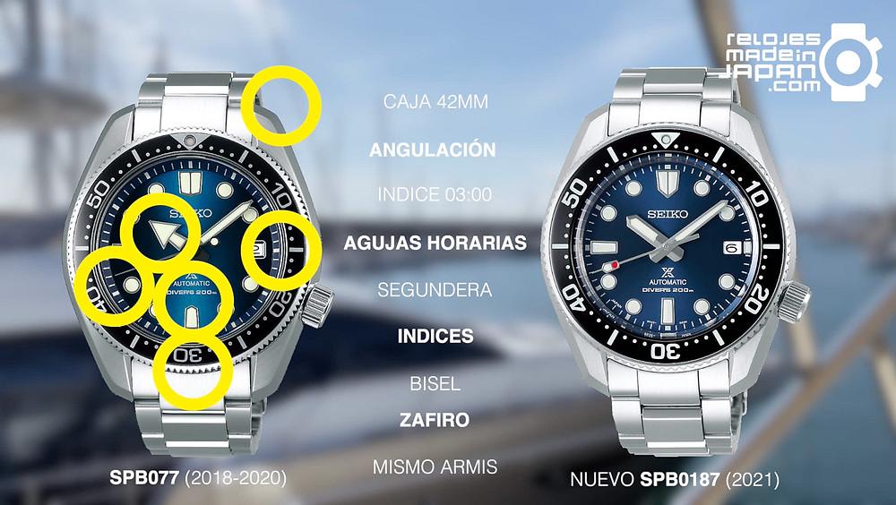 analisis nuevos relojes seiko mm200 referencia spb185j1 y spb187j1