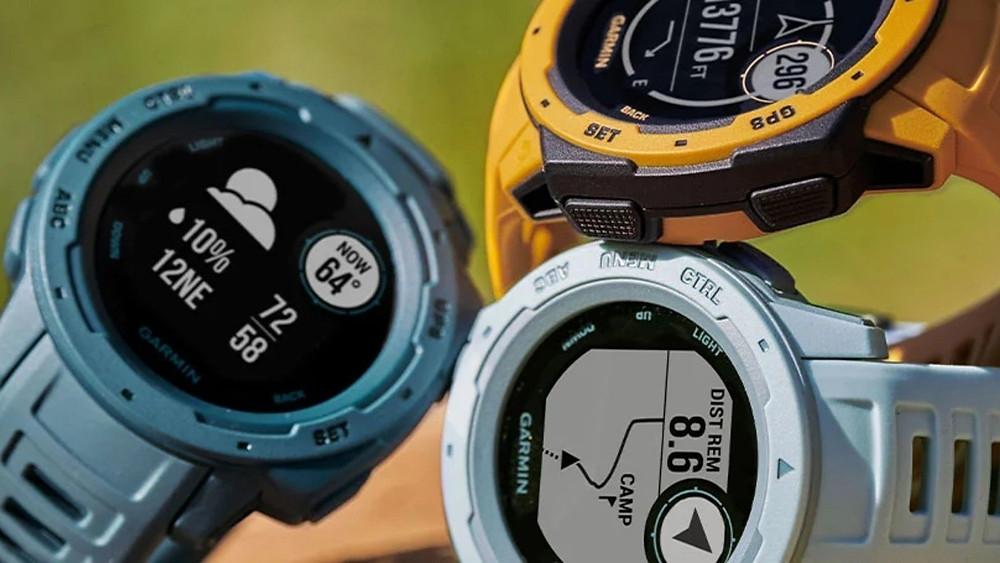 garmin instinct hero reloj smartwatch- olar compite con gswh1000 de casio