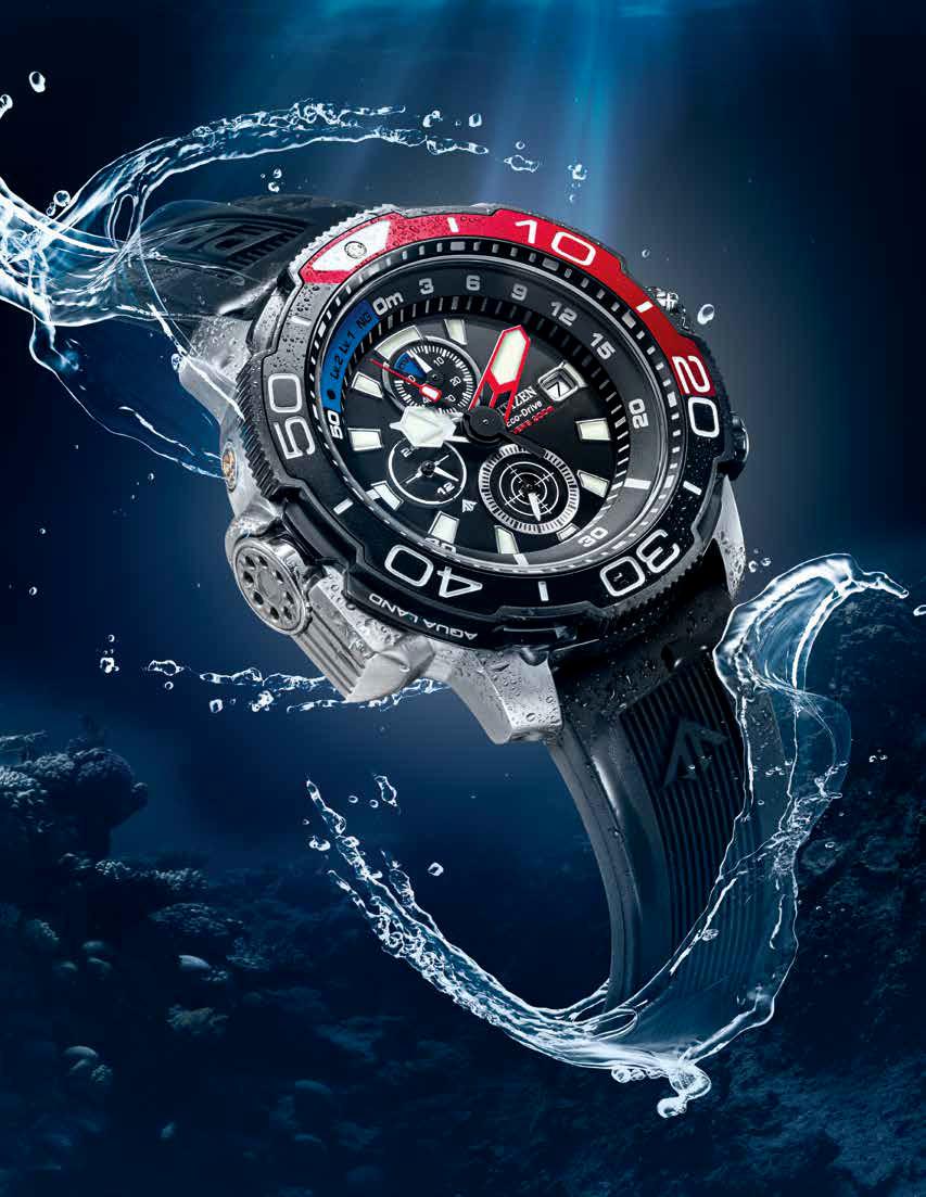Nuevos relojes Diver's Aqualand serie BJ21 de Citizen Watch