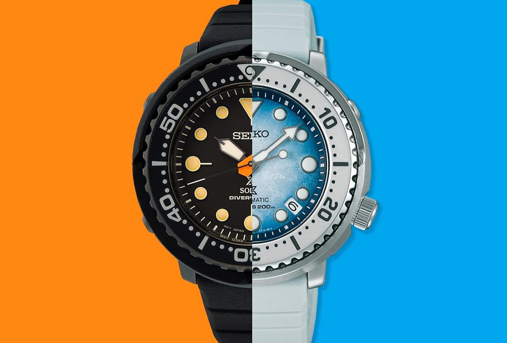 Dos nuevas series de 3 y 2 relojes seiko Prospex 2021 que ya estan disponibles en tiendas