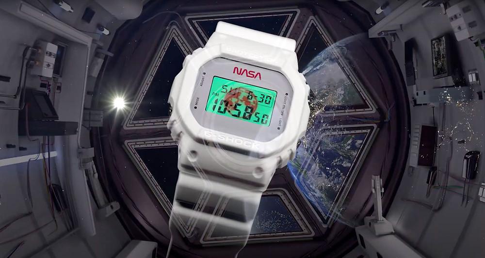 reloj G-Shock dw5600nasa20 edición limitada con la NASA en 2020