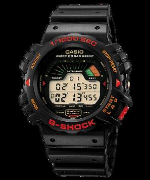 DW-6000GJ de 1990, primer reloj cronografo 1/1000 segundos