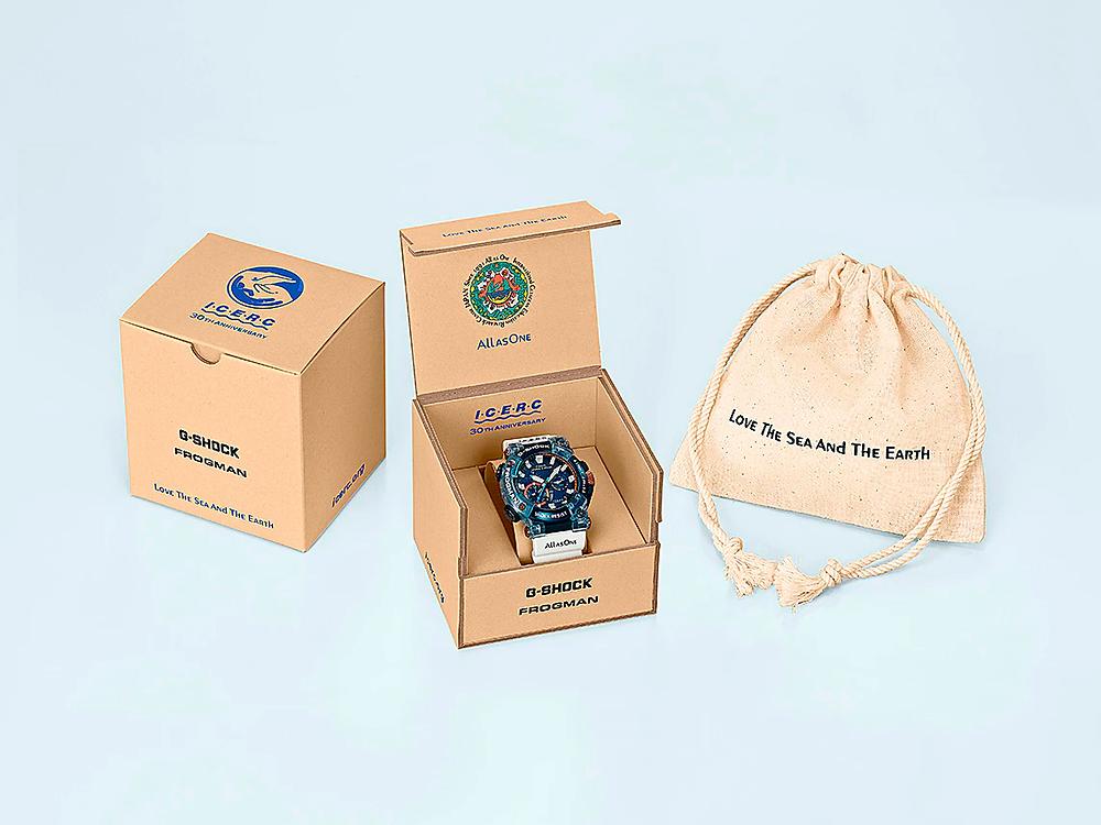 caja reloj casio g-shock GWF-A1000K-2A