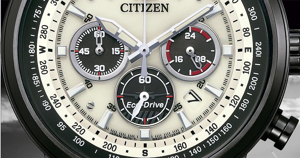 CA4476-19X detalle avion sub esfera reloj