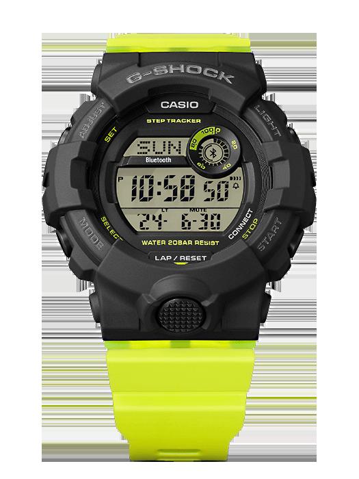 reloj steep tracker Casio G-SHOCK GMD-B800SC-1B para mujer deportista