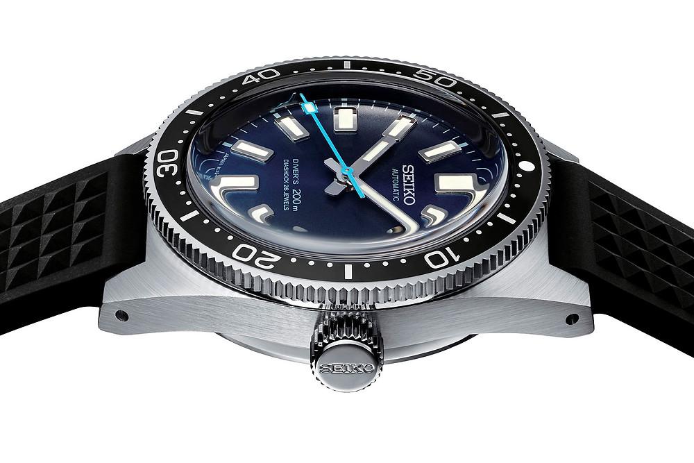 Reloj de edicion limitada Seiko prospex 55 aniversario Diver's 2020 ref. DETALLE FONDO A ROSCA SLA043J