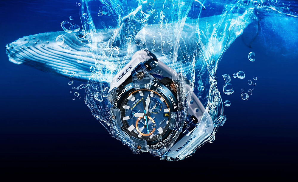 reloj diver's edicion limitada love icerc 2021 casio g-shock GWF-A1000K-2A
