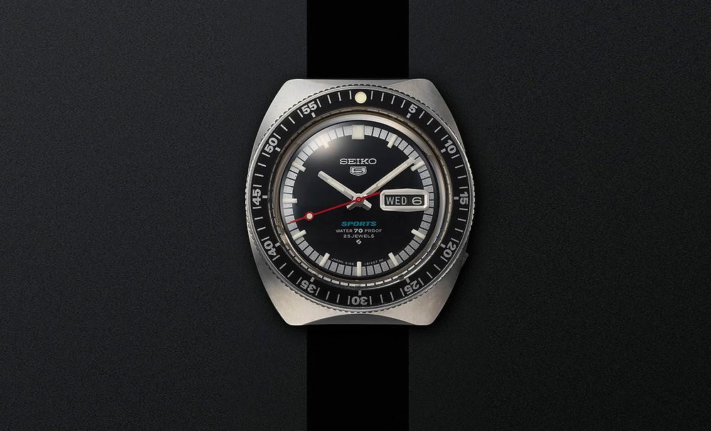 Primer reloj serie 5 de Seiko lanzado en 1968