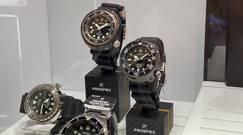 Deytalle relojes especiales en Seiko Boutique