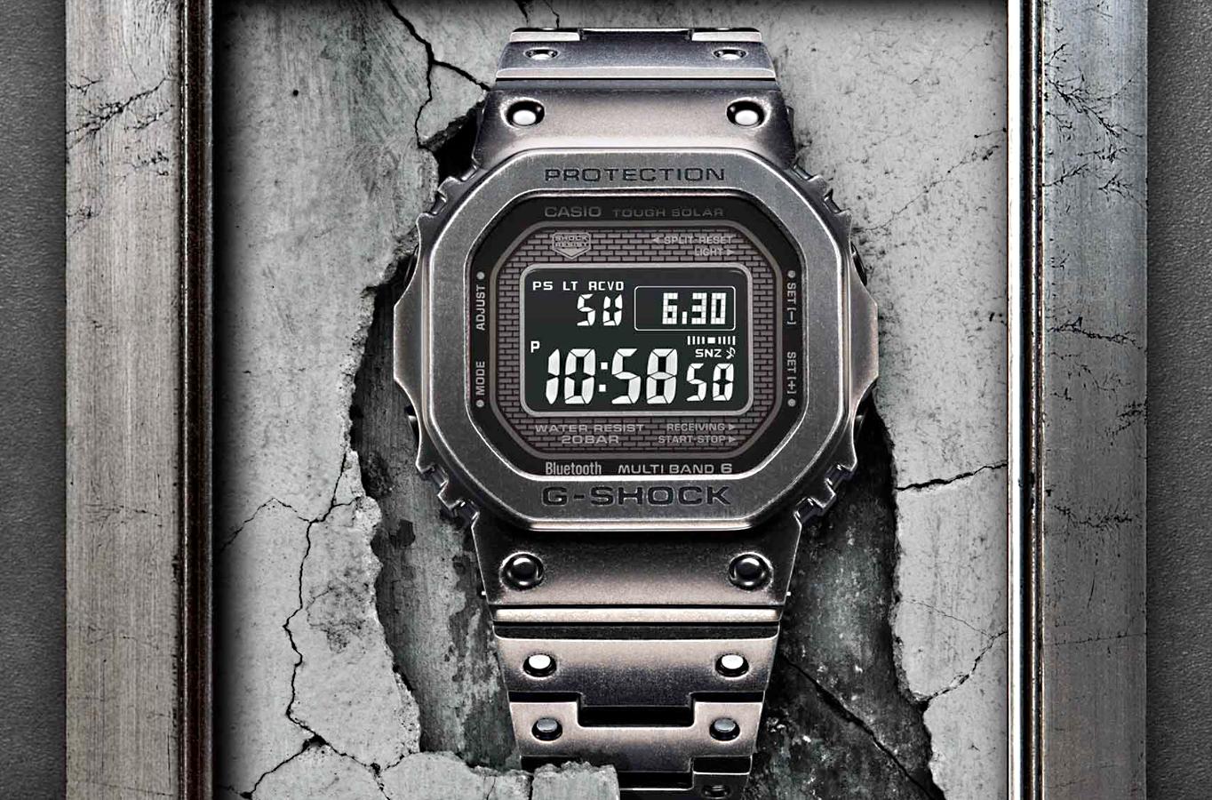 Nuevo reloj edicion limitada casio G-Shock GMWB5000V 2019