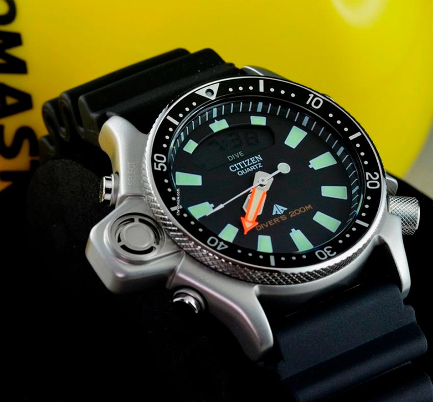 Citizen Aqualand JP2000-08E reloj icónico