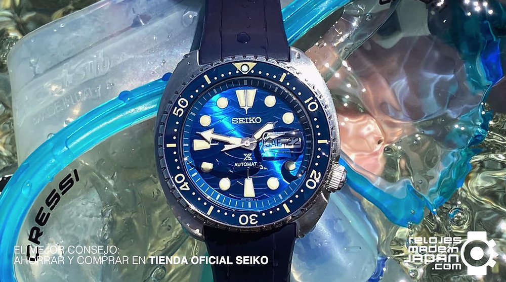 nueva video review seiko rey tortugas 2020 referencias SRPE07 y SRPE39