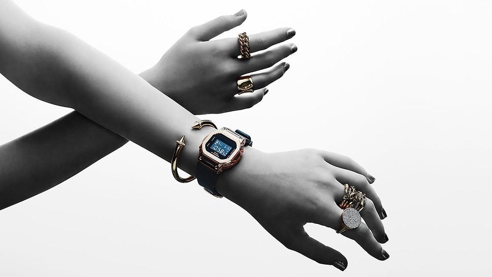 nuevos relojes serie GM-S5600 para ellas 2020 de Casio G-Shock