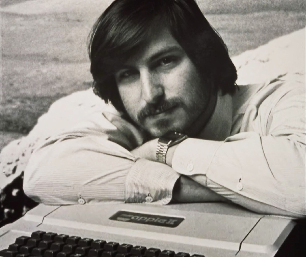 Steve Jobs con Seiko chronograph LCD M159-5059