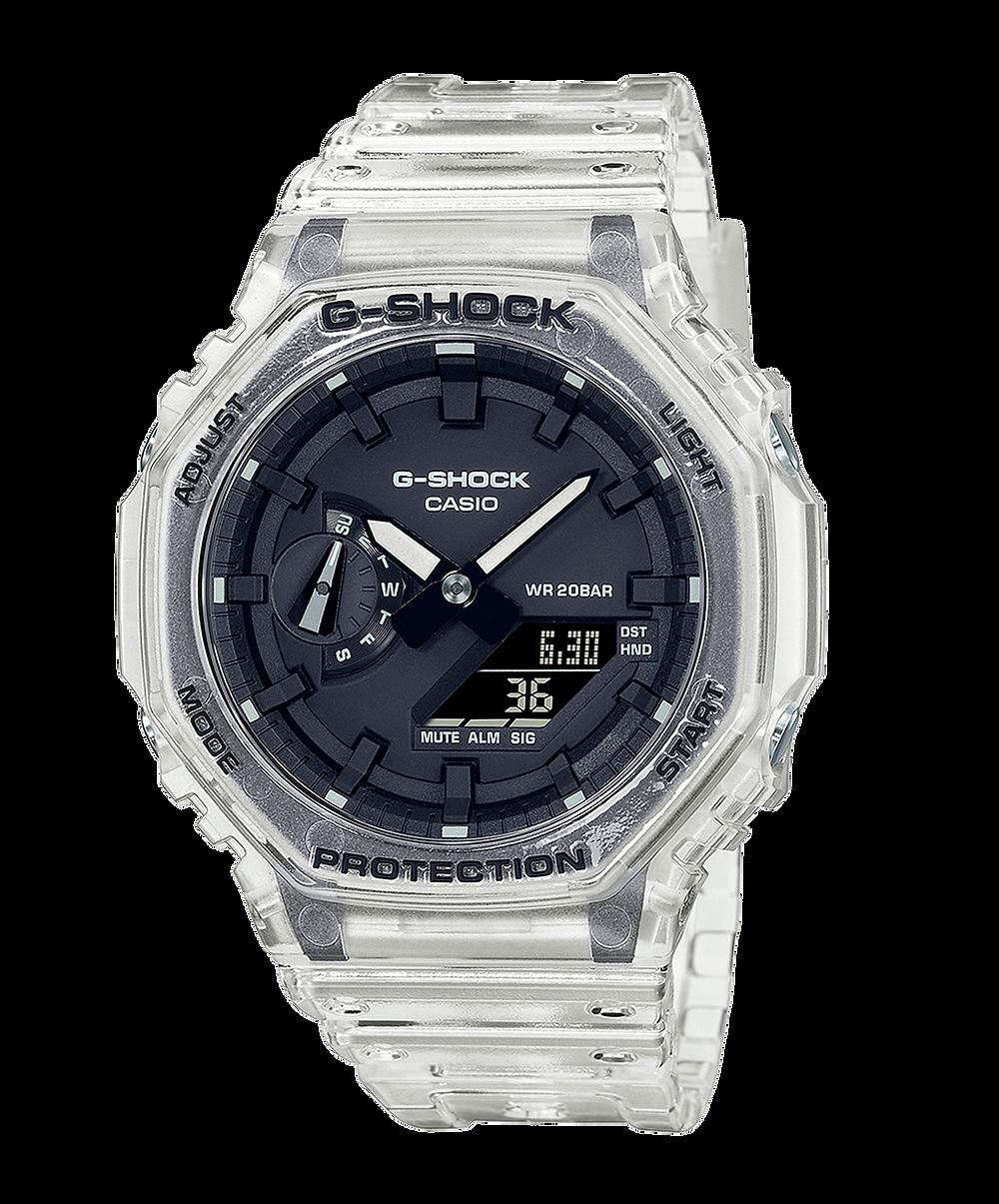 reloj de moda muy buscado GA-2100SKE-7AER de Casio G-Shock en 2021