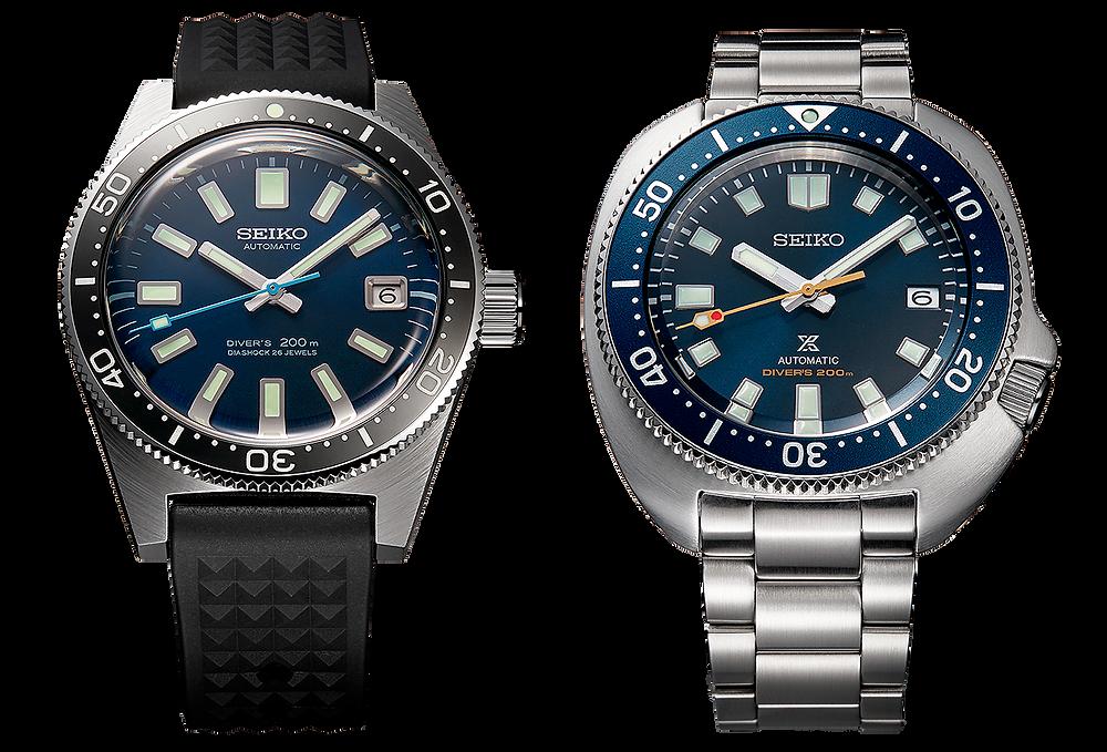 relojes edicion limitada SPB183J1 y SLA043J1 de Seiko