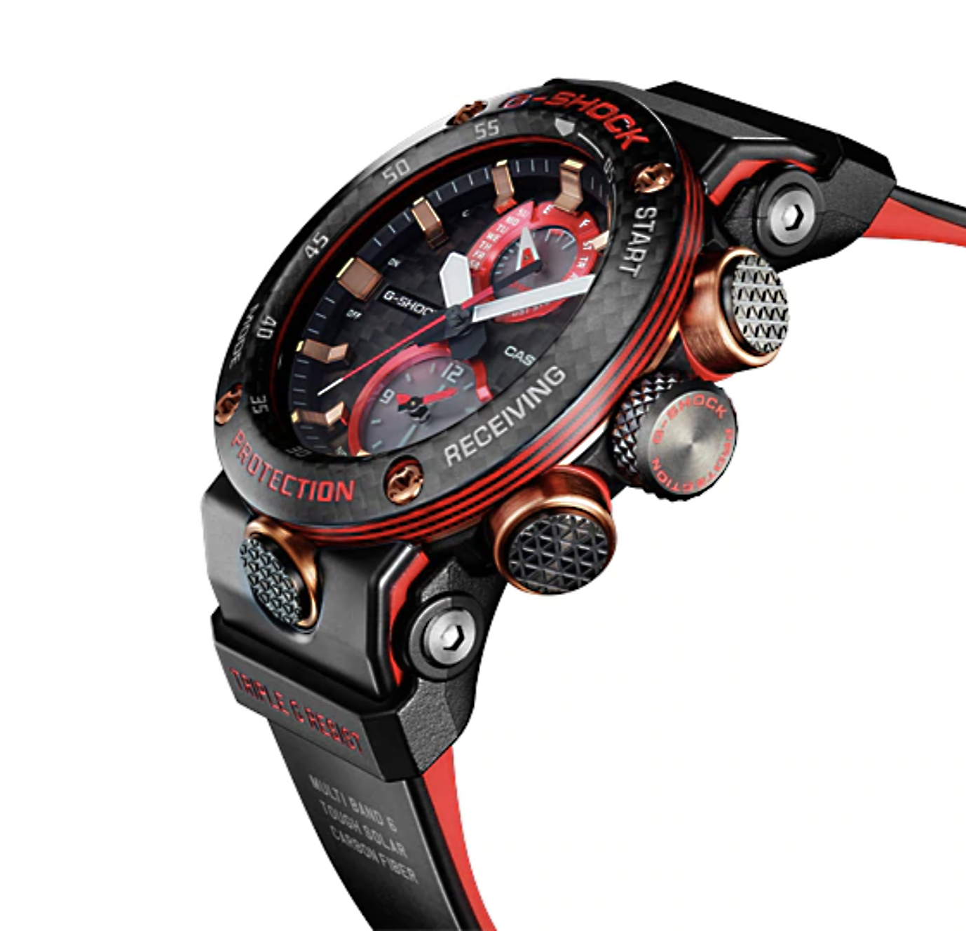 detalle nuevo reloj edicion limitada G-Shock GWR-B1000X