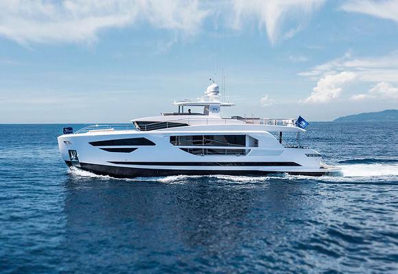 embarcaciones gran eslora horizon yacht FD series nuevos en venta