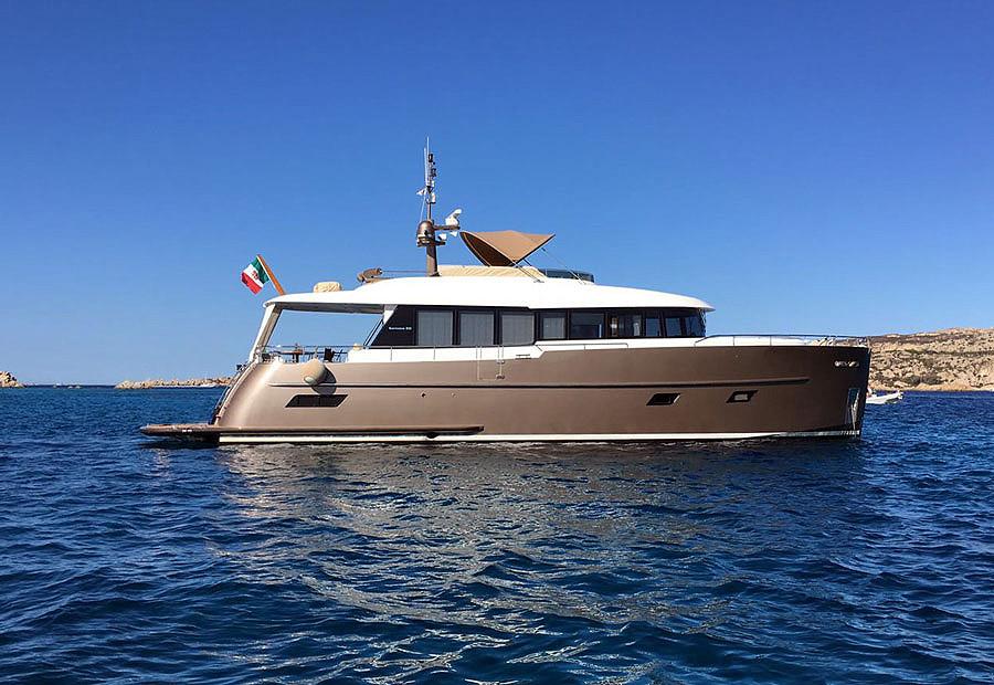 yate de lujo 22m Gamma 20 de ocasión en venta en sentyacht Port esportiu masnou