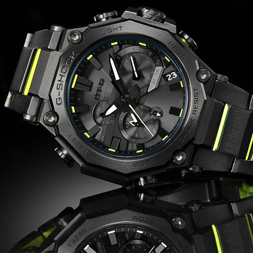 detalle esfera reloj G-Shock x Sankuanz MTG-B2000SKZ-1A