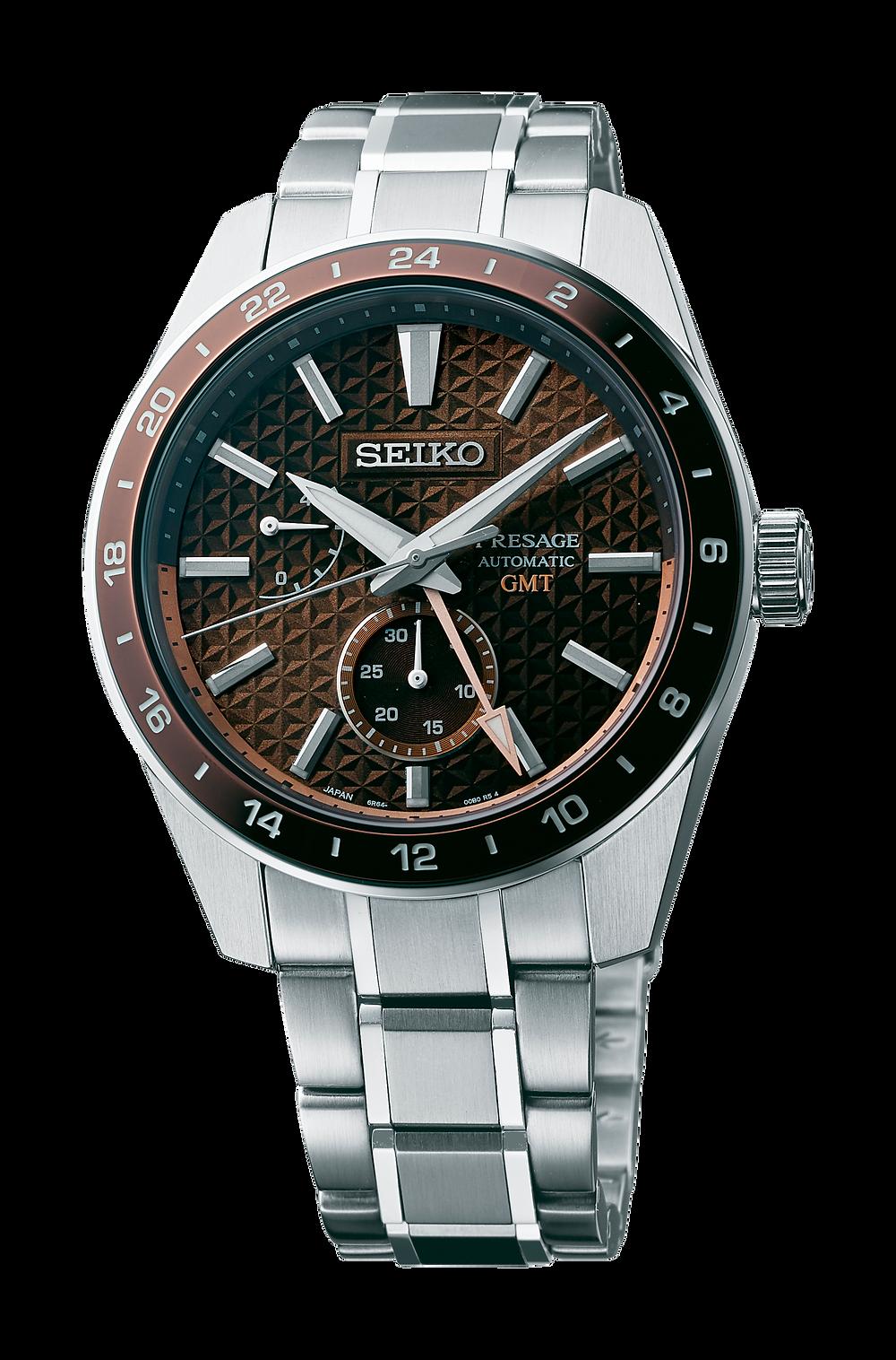 Seiko Presage GMT 2021 referencia SPB225J1
