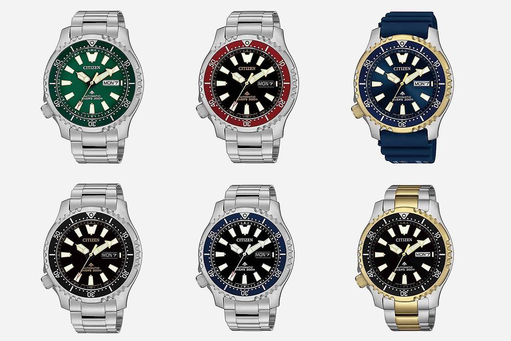 Relojes Citizen 200M promaster automáticos calibre 8203 miyota/Citizen