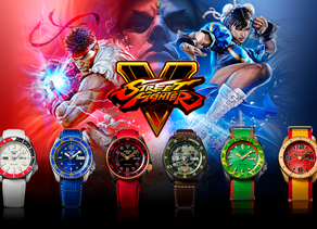 Bestial: Seiko x Street Fighter V