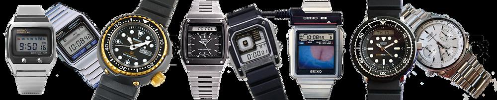 todos los relojes seiko james-bond peliculas 007