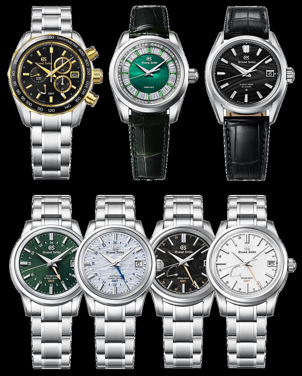 Todos los nuevos relojes Grand Seiko presentados summit 2021