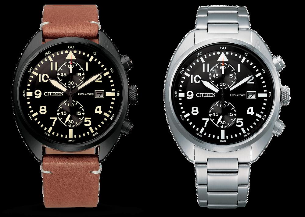 Reloj Citizen eco-drive crono modelo CA7040-85E