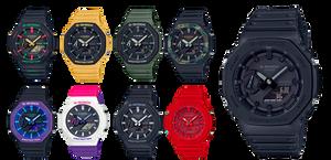 GA-2100-1A1ER y GA-2100-1AER relojes de moda de Casio G-Shock