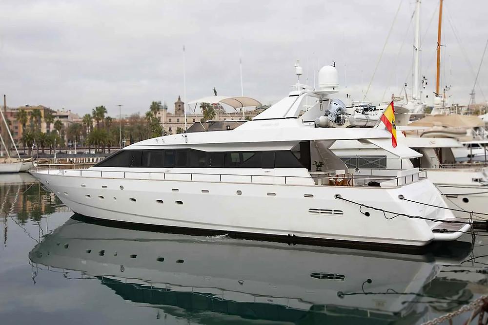 barco viudes 24 metros modelo 83 en venta ocasion excelente estado