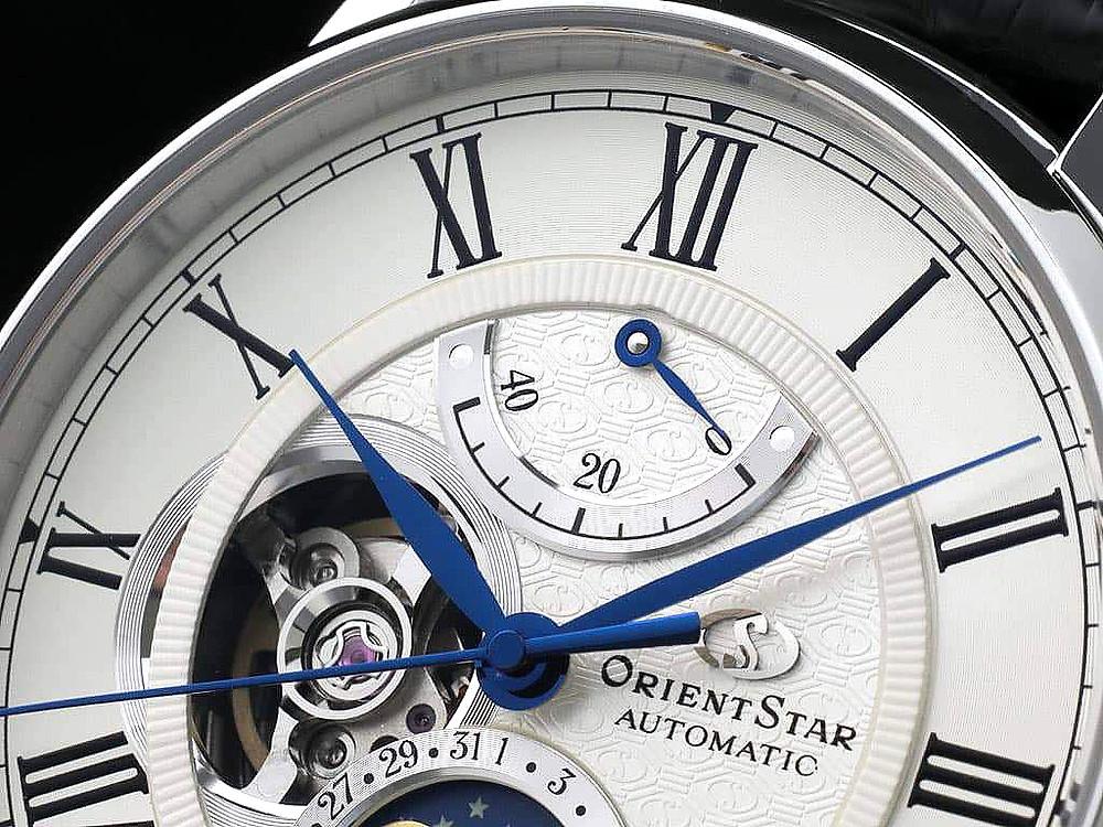 Los relojes japoneses orient star estan realmente muy bien fabricados, con atencion sublime a los detalles más ínfimos