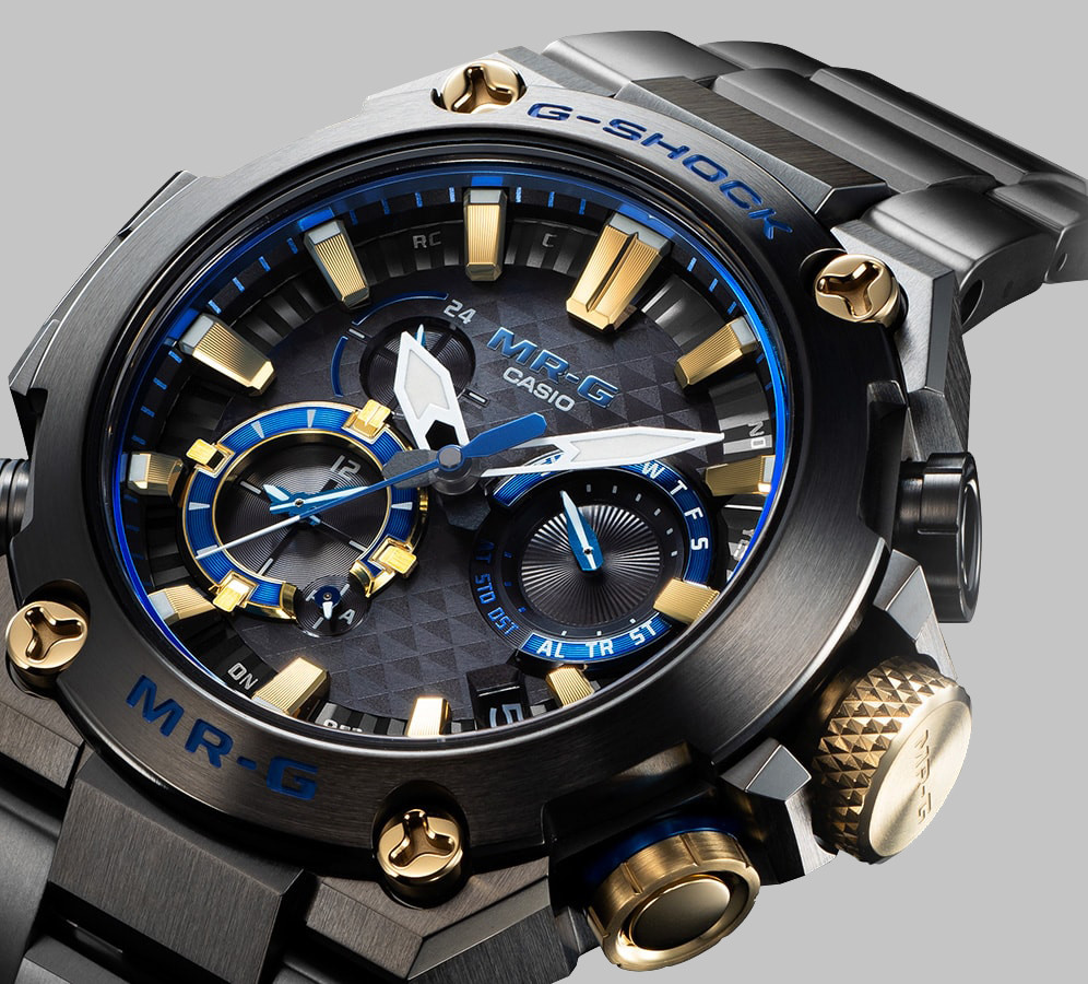 reloj novedad KACHI-IRO MR-G de Casio MRGB2000B1AER