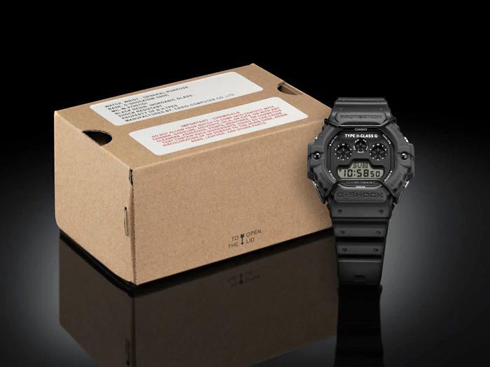 detalle caja reloj n.hollywood modelo dw-5900nh-1 de edición limitada