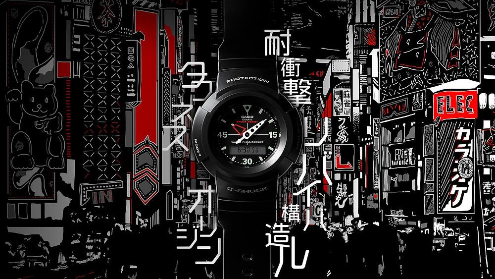 reedicion 2020 Casio G-Shock ana-digi serie AW500