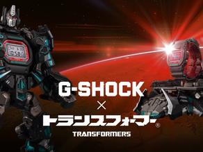 G-SHOCK x TRANSFORMERS 2019