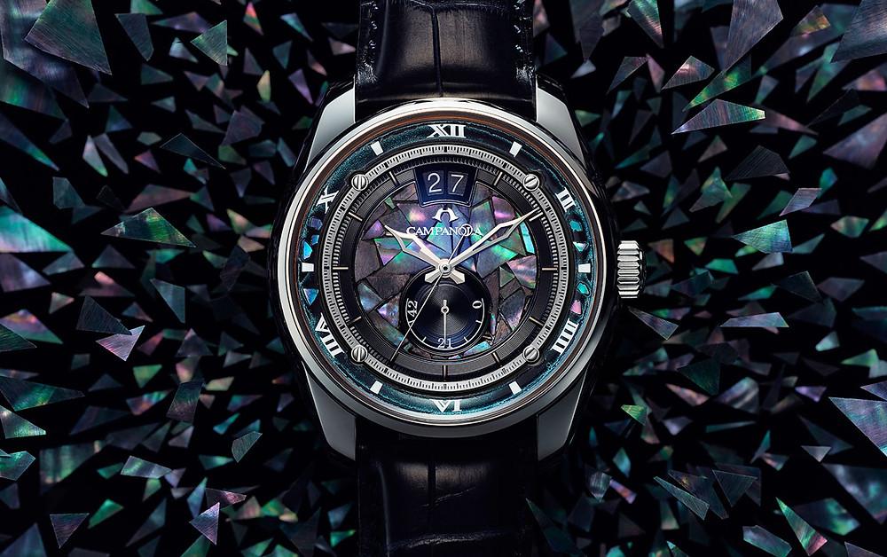 Edición limitada reloj de lujo Campanola NZ0000-07L 20 aniversario