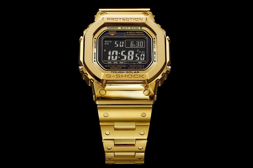 Nuevo G-Shock edicion limitada 2019 en oro macizo segun comenta kikuo ibe